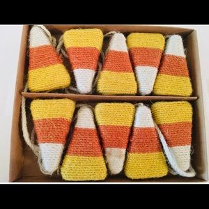 hallow home Holiday - Candy Corn Twine 6 ft garland Halloween Harvest